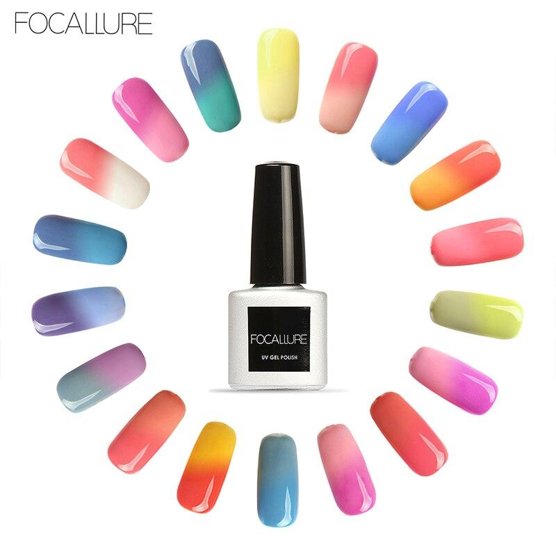 FOCALLURE New Gel Nail Polish 30 Changing Colors UV Gel Polish 7ML ...