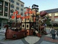 YLW развлечений открытый детская площадка оборудование парк слайд играть структура YLW OUT171073a