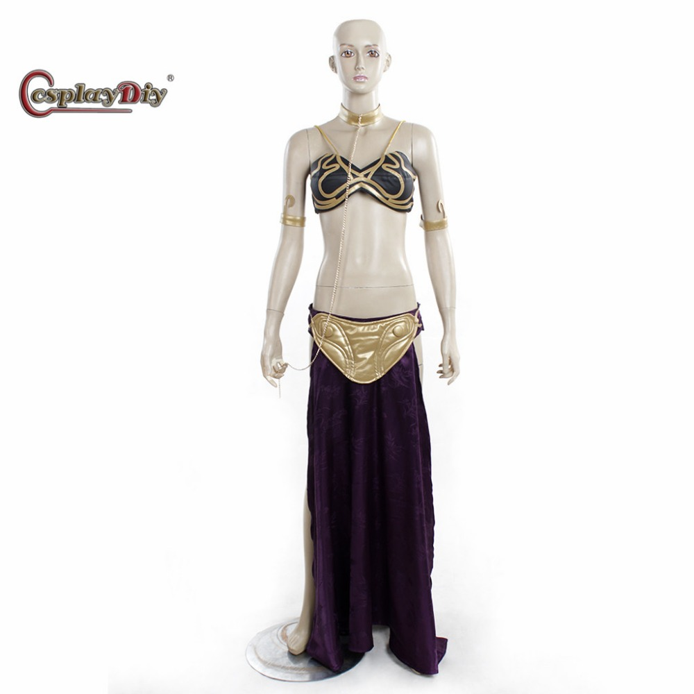 online buy wholesale princess leia slave costume from china princess leia slave costume. Black Bedroom Furniture Sets. Home Design Ideas