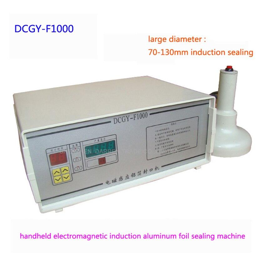 1PC F1000 induction Aluminum Foil Sealing Equipment Hand held induction sealing machine indution sealer machine 7-13cm