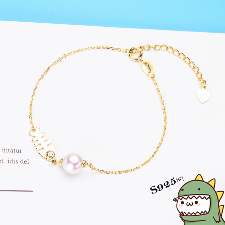 925 Sterling Silver Anklets For Women lovely Fish bone Rhine stone Charms Pure Silver 925 Jewelry Anklets Gift 2018 for women pair of graceful embellished floral jewelry anklets for women