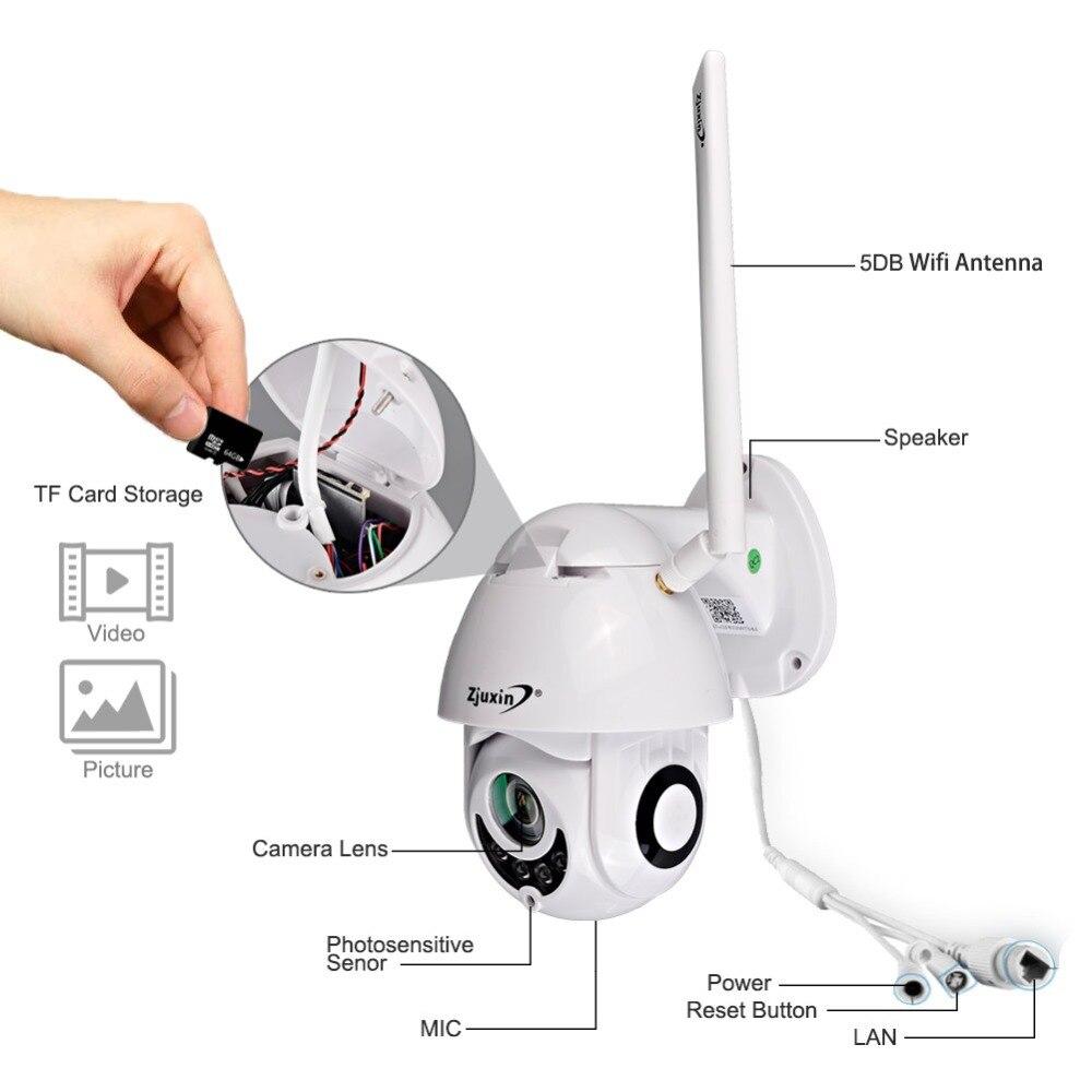 onvif câmera de vigilância segurança ao ar livre ipcam camara exterior