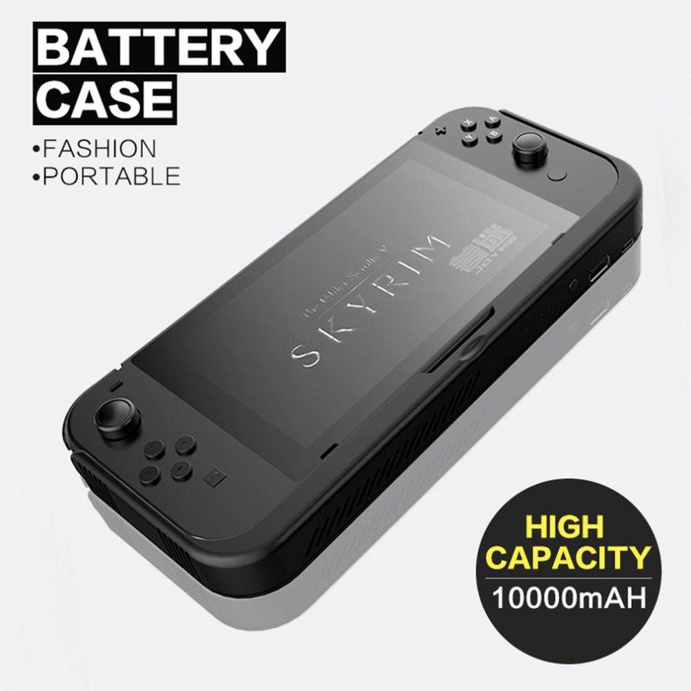 Battery Charger Case For Nintend Switch NS 10000mAh Back Clip Battery Power Bank Leather Stand Holder Case For Nintend SwitchBattery Charger Case For Nintend Switch NS 10000mAh Back Clip Battery Power Bank Leather Stand Holder Case For Nintend Switch