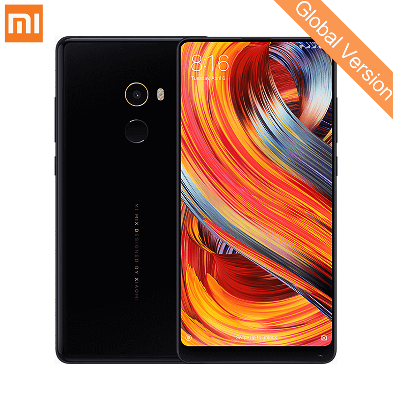 Глобальная версия Xiaomi mi x 2 Мобильный телефон 6 ГБ 64 ГБ Snapdragon 835 Octa Core 5,99 2160X1080 полный Экран 2,0 Дисплей Cera mi cs
