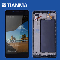 Single SIM 5 2 AMOLED Display For NOKIA Lumia 950 LCD DisplayTouch Screen Digitizer Replacement Parts