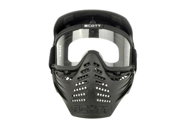 High quality Black /Green Outdoor tactical Safty Airsoft Paintball Full Face Mask w/Goggles
