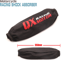35cm Rear Shock Absorber Guard Wrap Cover For CRF YZF KTM KLX Dirt Bike Motorcycle ATV Quad Motocross стоимость