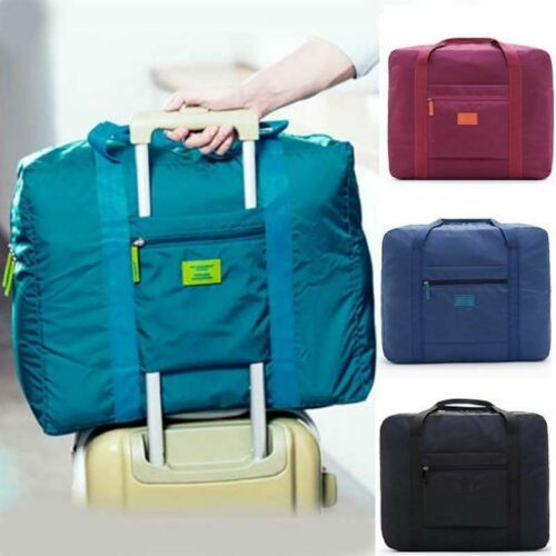Men Foldable Large Duffel Bag Luggage Storage Bag Waterproof Travel Pouch Bag
