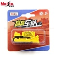 Maisto excavadora sobre orugas 1: 64 modelo de coche de aleación toys para niños de bolsillo coche niños como el regalo