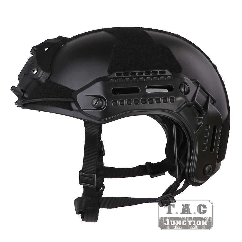 Tactical Flux S Helmet Modular Lightweight Airsoft Paintball Helmet with L4 Should &M-LOK Rail & Impact Liner HelmetsTactical Flux S Helmet Modular Lightweight Airsoft Paintball Helmet with L4 Should &M-LOK Rail & Impact Liner Helmets