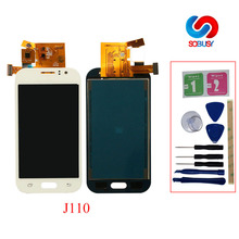J1 AceFor Samsung Galaxy J1 Ace J110 SM-J110F J110H J110FM LCD Display Touch Screen  Tela Digitizer Assembly Replacement Parts