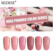MIZHSE Gel Nagellak 7 ml Licht Roze Kleur Nail Art Gel Polish Vernis Lak Nagel Gel Lak Lucky Gel nagels Vernis Manicure(China)
