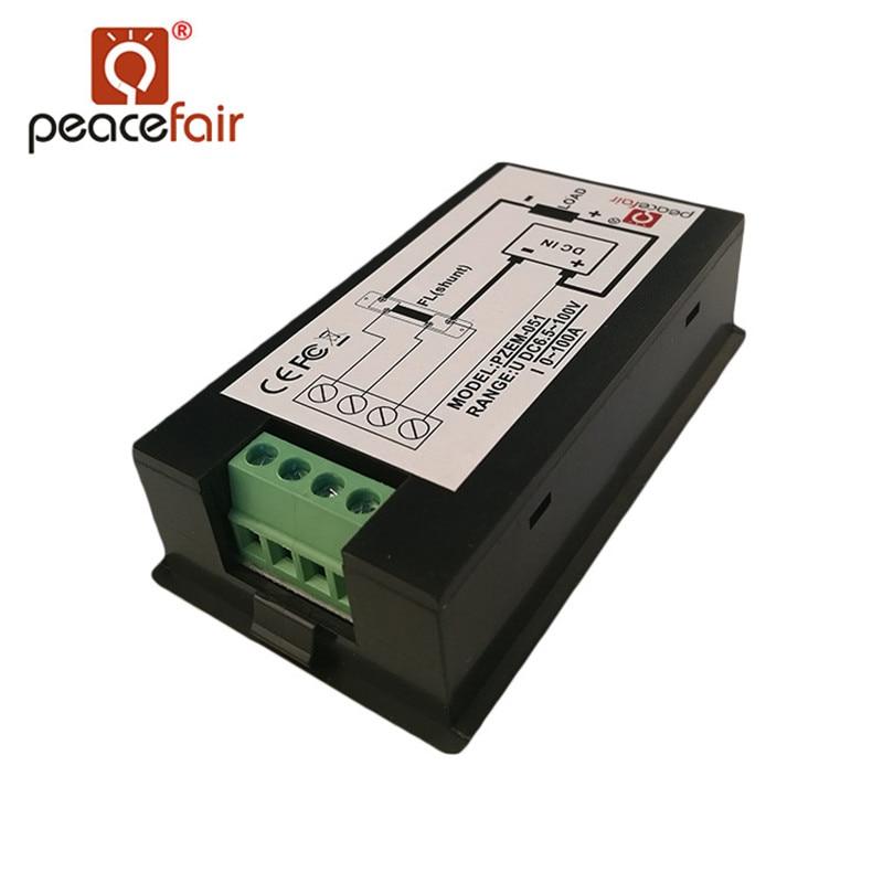 Peacefair DC digitaalne multifunktsionaalne voltmeeter ampermeeter - Mõõtevahendid - Foto 6