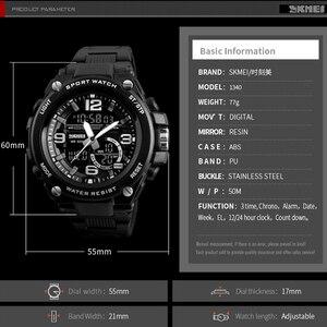 Image 5 - 2018 Skmei Lüks Marka Erkek Spor Saatler Dalış 50 m Dijital LED Askeri İzle Erkekler Casual Elektronik Saatı Relojes
