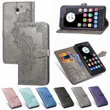 Voor ZTE Blade A510 A610 V7 Lite L5 Plus Mandala Patroon Leather Flip Wallet Kaarthouder Stand Case Cover