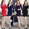 S 4XL Women S Work Pant Suits Spring 2017 Autumn Elegant Formal Office Square Collar Ruffles