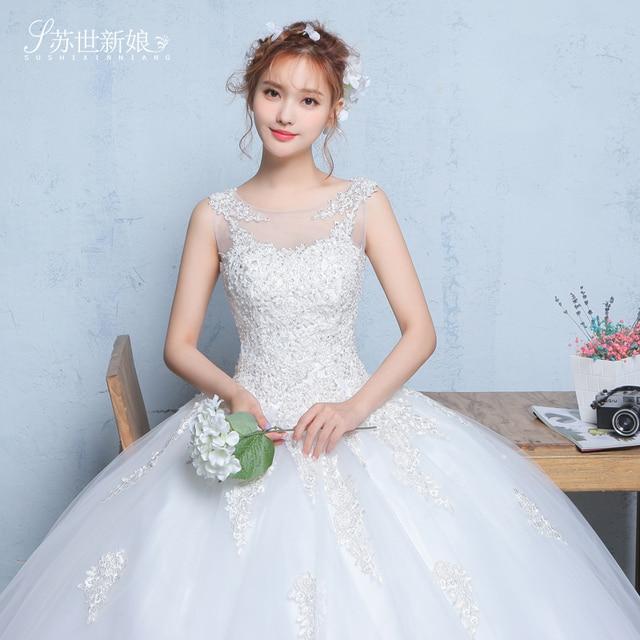 Vestidos de boda chino vestido de novia de encaje moderno elegante ...