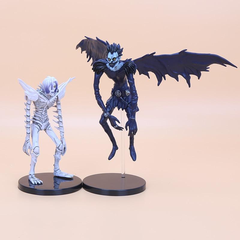 death note deathnote ryuk ryuuku rem 18cm 15cm statue. Black Bedroom Furniture Sets. Home Design Ideas