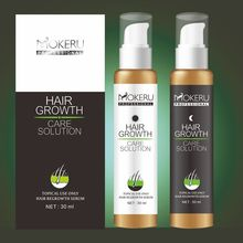 Mokeru 30 Days 100% Guarantee Hair ReGrowth Lotion Natural Essence Anti Hair Loss Liquid Shampoo for