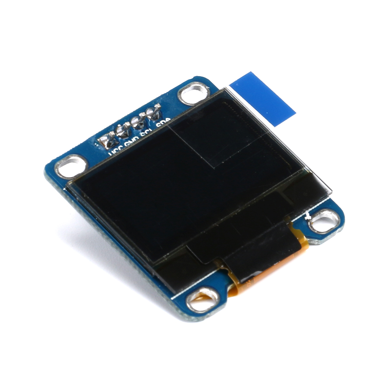 "0.96 inch Yellow + Blue Double Color IIC Communication 12864 OLED Display Module OLED LCD Screen 0.96"" 128X64 I2C"