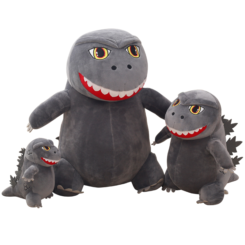 все цены на 1pc 20/35/50cm Monster Godzilla plush toy doll cartoon monster doll simulation dinosaur pillow presents Christmas gift for kids онлайн