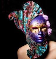 021369 Секторальные принцесса маска Венецианский карнавал всех святых маскарад сувениры бесплатная доставка