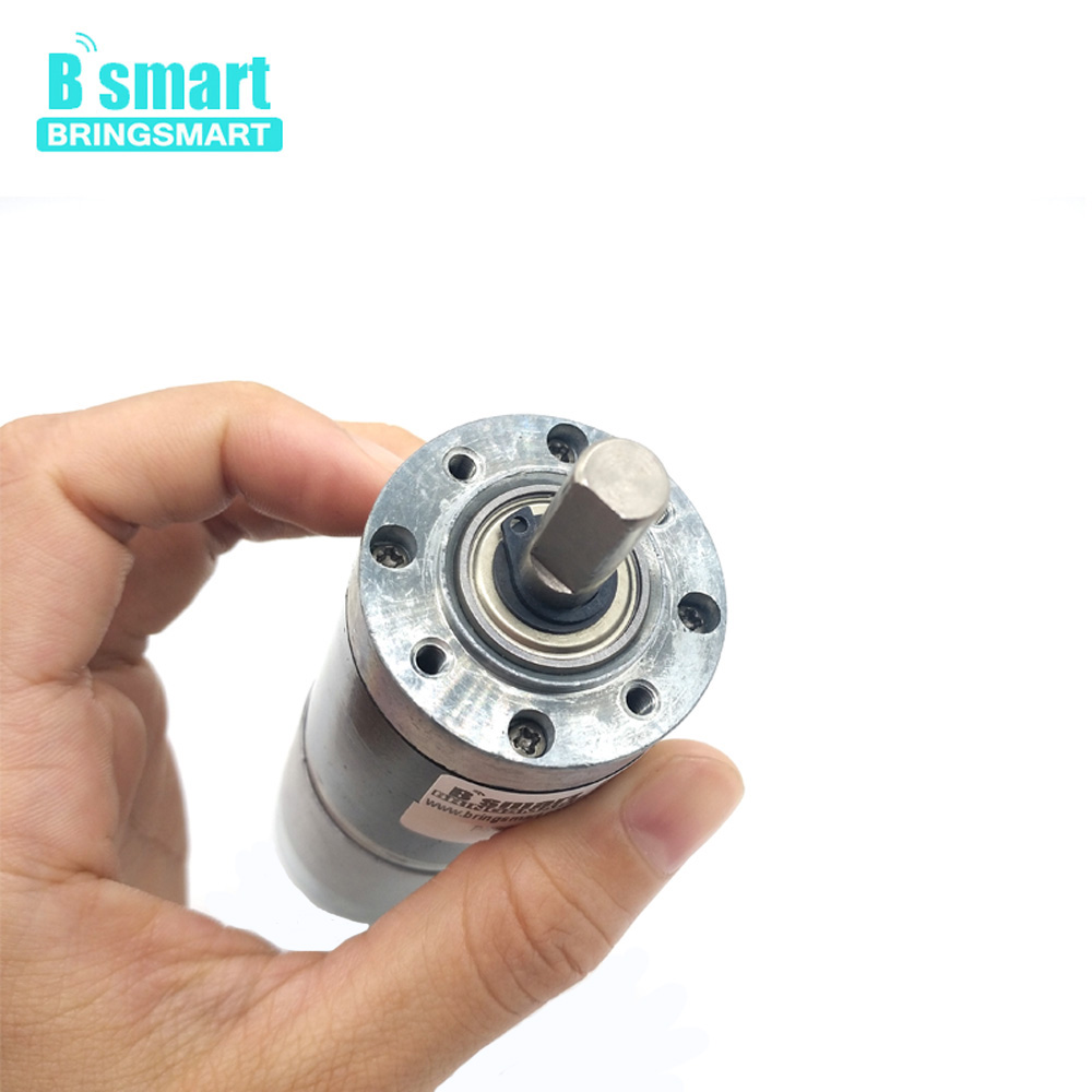 Bringsmart 12V 24V Planetary Gearbox Motor Low Speed High Torque 60kg.cm Electric Micro Motor Planetary Reducer PG36-555Bringsmart 12V 24V Planetary Gearbox Motor Low Speed High Torque 60kg.cm Electric Micro Motor Planetary Reducer PG36-555