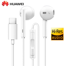Huawei auriculares de AUDIO tipo C con controlador para Huawei Mate 10 Pro, P20 Pro, deportivos, de alta resolución, H30