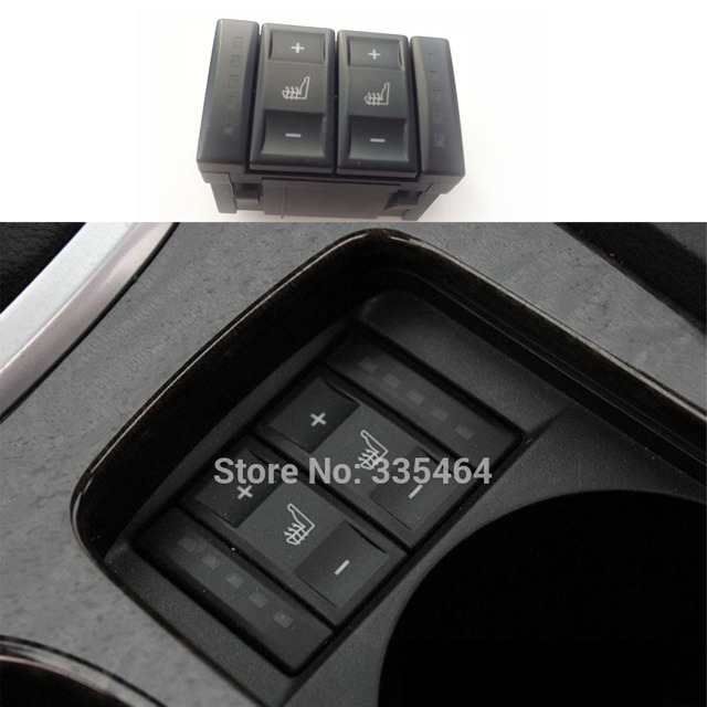 For Ford Mondeo S-Max Seat Heating Button Switches Heated Switch Control Seat Heater Button