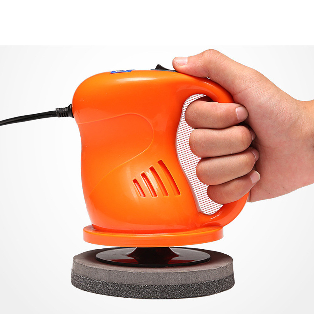 1pc  Waxing machine Car Electrical Handheld Orbital Motion Polisher Paint Buffer Wax Machine  12.5x12.5x17.5cm