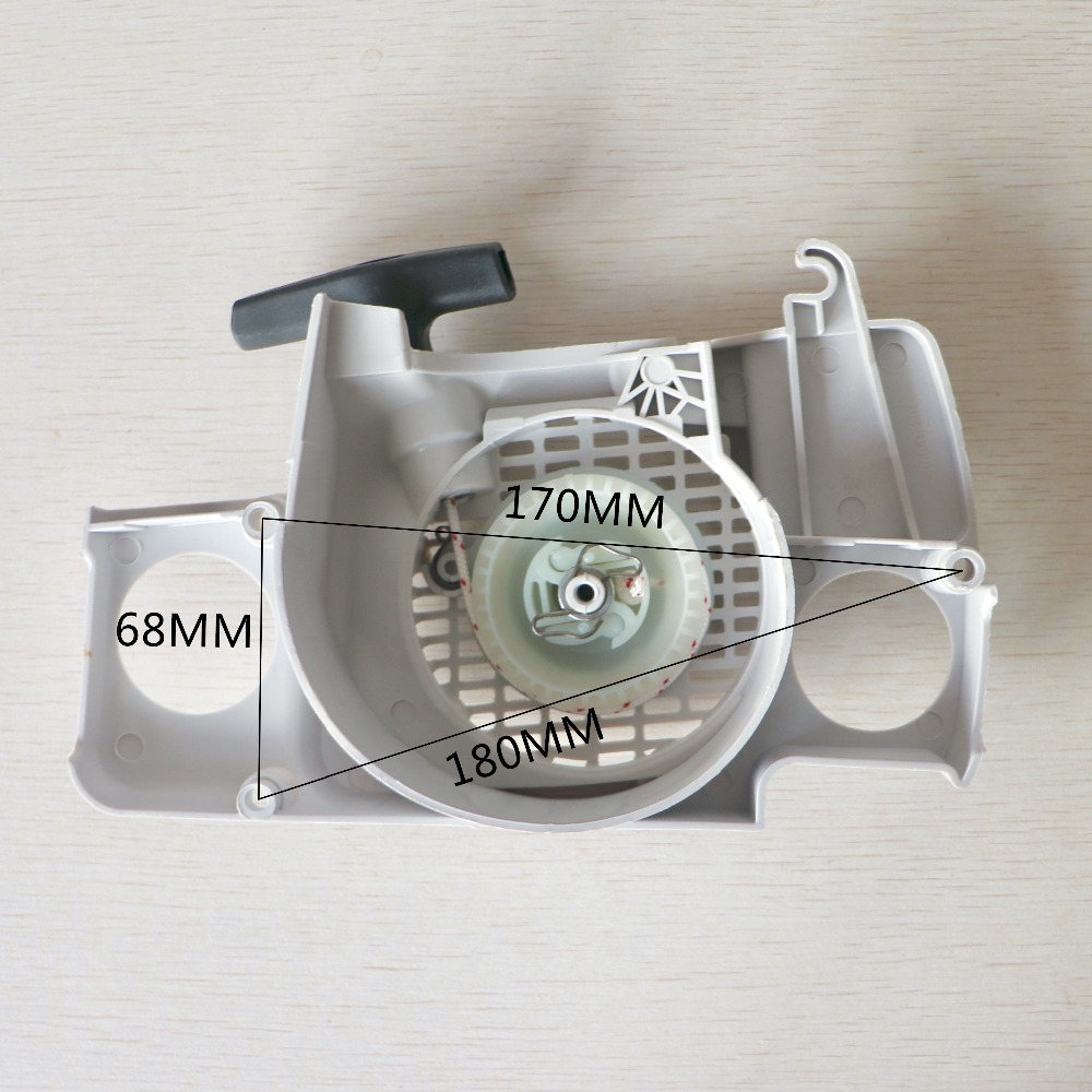 Купить с кэшбэком Recoil Starter Assembly Fit STIHL MS180 MS170 MS 170 180 017 018 Chainsaw Parts