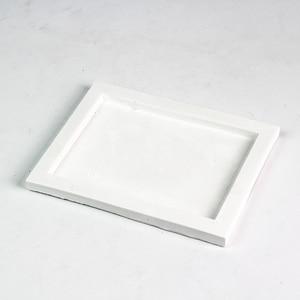 Image 4 - シリコーントレイ型手作り正方形セメント板の金型