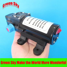 5l/min 60W automatic pressure switch type with on/off button and socket self-priming diaphragm pump 12v 5l min 60w automatic pressure switch type with on off button and socket self priming 12v dc electric mini diaphragm pump