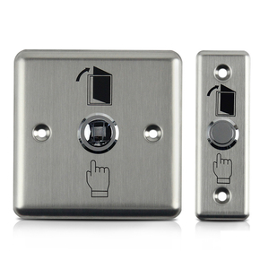 Image 4 - Stainless Steel Exit Button Push Switch Door Sensor Opener Release For Magnetic Lock Access Control Home Security Protection