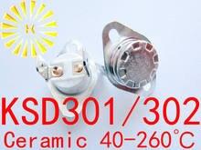 5 шт x ksd302 16a 40 260 градусов керамический 250 В ksd301