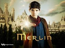 D1056 Merlin Colin Morgan Keep The Magic Secret TV Series-Print Silk Art Wall Poster(China)