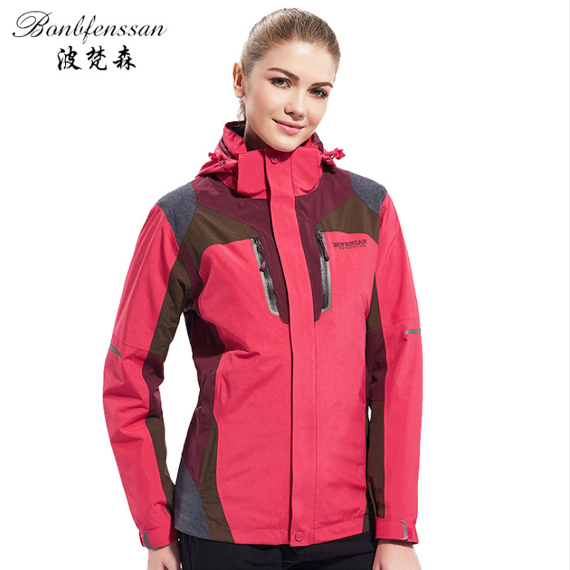Women Winter down Inner Outdoor Jackets Thermal Waterproof Windproof Sports Camping Hiking Female Hiking female Jacket 8870B women winter windproof outerwear outdoor sports hiking