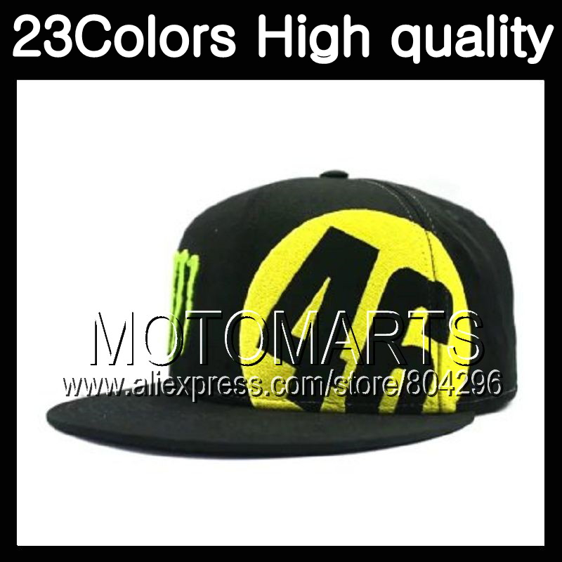 Rossi VR 46 Caps Baseball Caps Cap 46# Snapback Bones Masculino MotoGp Rossi VR46 Hat Moto Men Women Black yellow Baseball Hats 7 colors mens golf hat basketball caps cotton caps men baseball cap hats for men and women letter cap