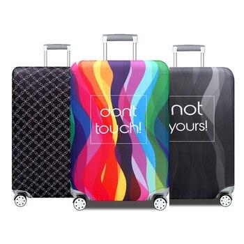 966225946 QEHIIE de maleta de equipaje cubierta protectora elástico de S/M/L/XL a  18-32 pulgadas casos de accesorios