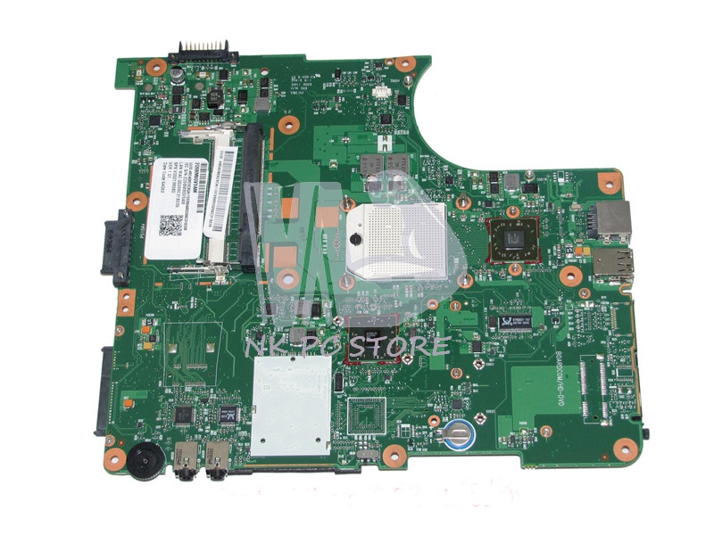 V000138980 Main Board For Toshiba Satellite L300 L305D Laptop Motherboard Socker S1 DDR2 with Free CPU 815248 501 main board for hp 15 ac 15 ac505tu sr29h laptop motherboard abq52 la c811p uma celeron n3050 cpu 1 6 ghz ddr3