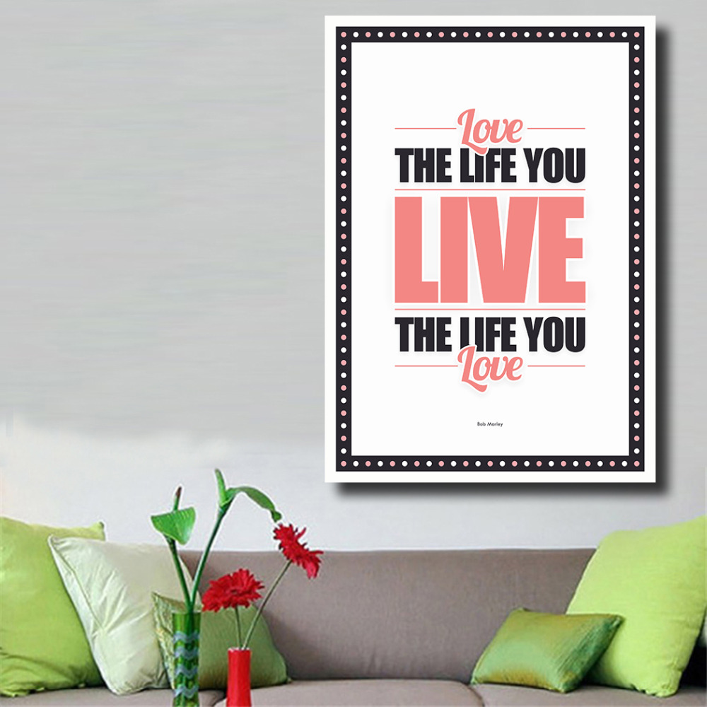 Life Quotes Posters Qkart Life Love You Live Bob Marley Quotes Posters And Prints Oil