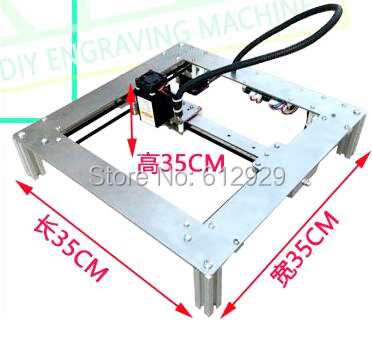 Hot laser cutter corkwood CNC1818 mini laser engraving machine Diy laser engraving CNC machine, pcb Milling machine,Wood Router  цены