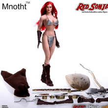In stock PHICEN 1/6 Warrior Red Sonja PL2015-86 Female Seamless Body Figure Big Breast Action Figure For Collection or Gifts