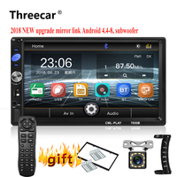 2din Car Radio 7 mirrorlink Android Autoaudio for subwoofer MP5 Player Autoradio Bluetooth Rear View Camera tape recorder