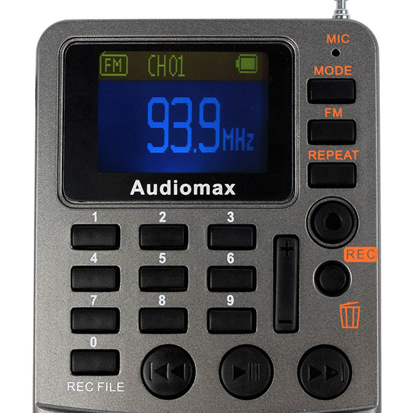 Hot Sale Handheld FM Stereo Radio Receiver (5)