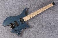 Headless Top quality Musical Instrument 6 strings Guitarra Headless Neck Custom Electric Guitar free shipping