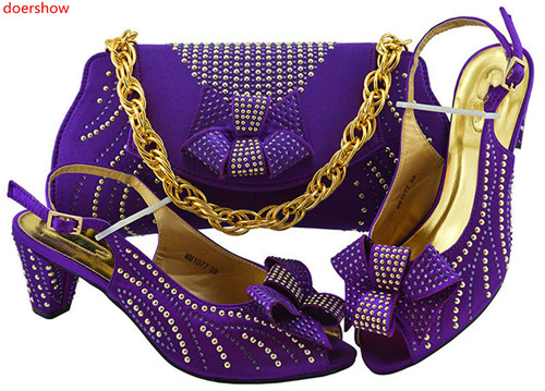 doershow Direct sales purple Shoe And Bag Set African party Shoe And Bag Sets Italy Women Shoe And Bag To Match For partySWD1-19doershow Direct sales purple Shoe And Bag Set African party Shoe And Bag Sets Italy Women Shoe And Bag To Match For partySWD1-19