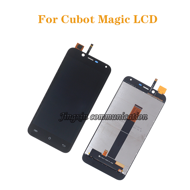 100% New 5.0'' For Cubot Magic LCD display + touch screen digitizer component replacement with cubot magic glass components-in Mobile Phone LCD Screens from Cellphones & Telecommunications