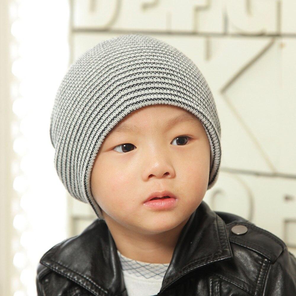 2017 Baby Beanie Boy Girls Soft Hat Children Winter Warm Kids Knitted Cap BTTF