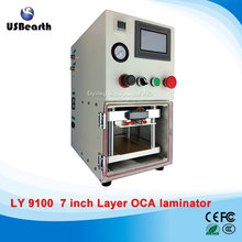 Bubble-free oca laminator machine,not need vacuum pump OCA machine with 4 sets Laminator Molds